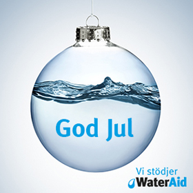 God Jul WaterAidSverige